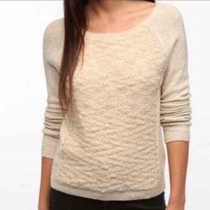 UO silence + noise Angora Blend Cream Sweater S
